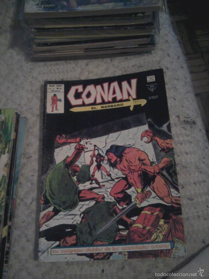 Cómics: Conan el Bárbaro 26 27 28 29 30 31 32 33 36 37 38 39 40 41 42 y 43 - Vértice - nºs sueltos - Foto 8 - 58772026