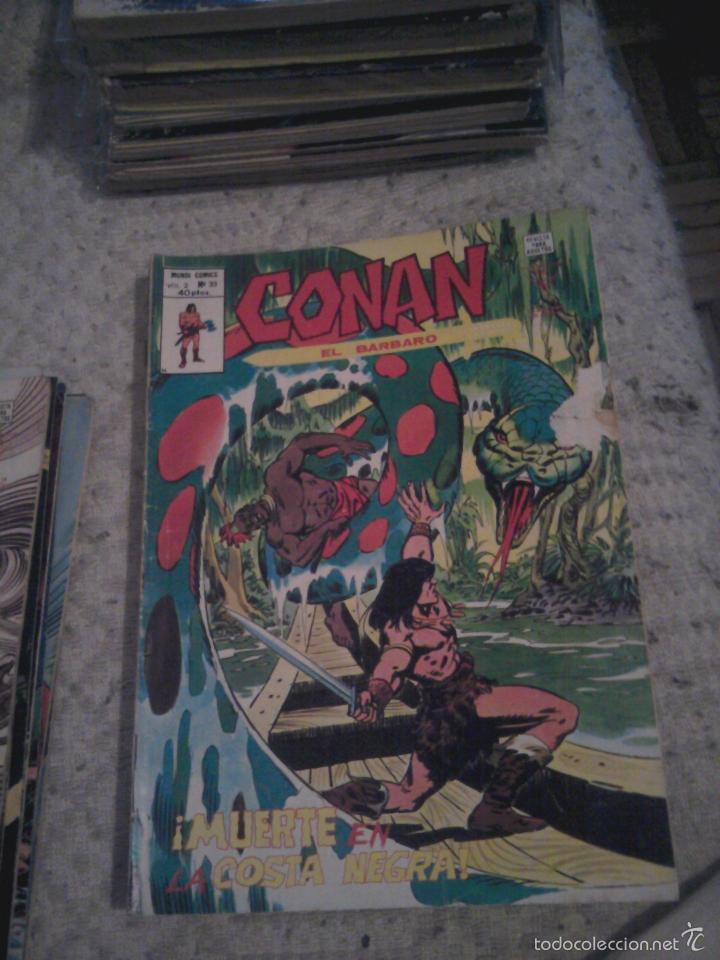 Cómics: Conan el Bárbaro 26 27 28 29 30 31 32 33 36 37 38 39 40 41 42 y 43 - Vértice - nºs sueltos - Foto 9 - 58772026