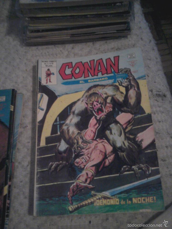 Cómics: Conan el Bárbaro 26 27 28 29 30 31 32 33 36 37 38 39 40 41 42 y 43 - Vértice - nºs sueltos - Foto 11 - 58772026