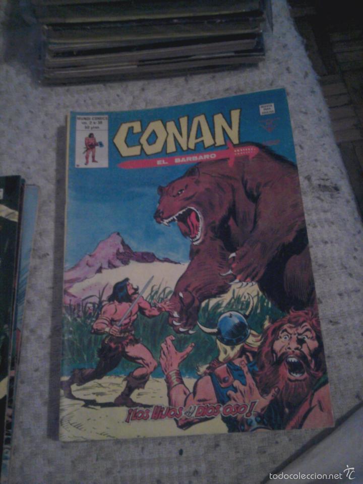 Cómics: Conan el Bárbaro 26 27 28 29 30 31 32 33 36 37 38 39 40 41 42 y 43 - Vértice - nºs sueltos - Foto 12 - 58772026