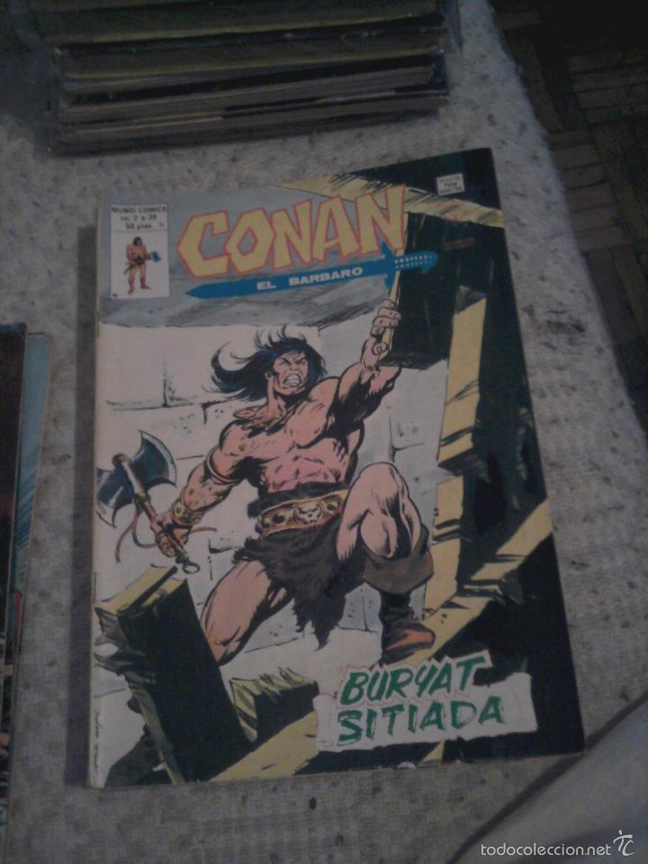 Cómics: Conan el Bárbaro 26 27 28 29 30 31 32 33 36 37 38 39 40 41 42 y 43 - Vértice - nºs sueltos - Foto 13 - 58772026