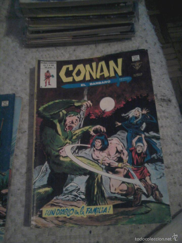 Cómics: Conan el Bárbaro 26 27 28 29 30 31 32 33 36 37 38 39 40 41 42 y 43 - Vértice - nºs sueltos - Foto 14 - 58772026