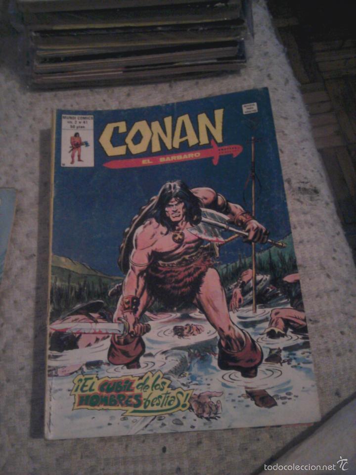 Cómics: Conan el Bárbaro 26 27 28 29 30 31 32 33 36 37 38 39 40 41 42 y 43 - Vértice - nºs sueltos - Foto 15 - 58772026