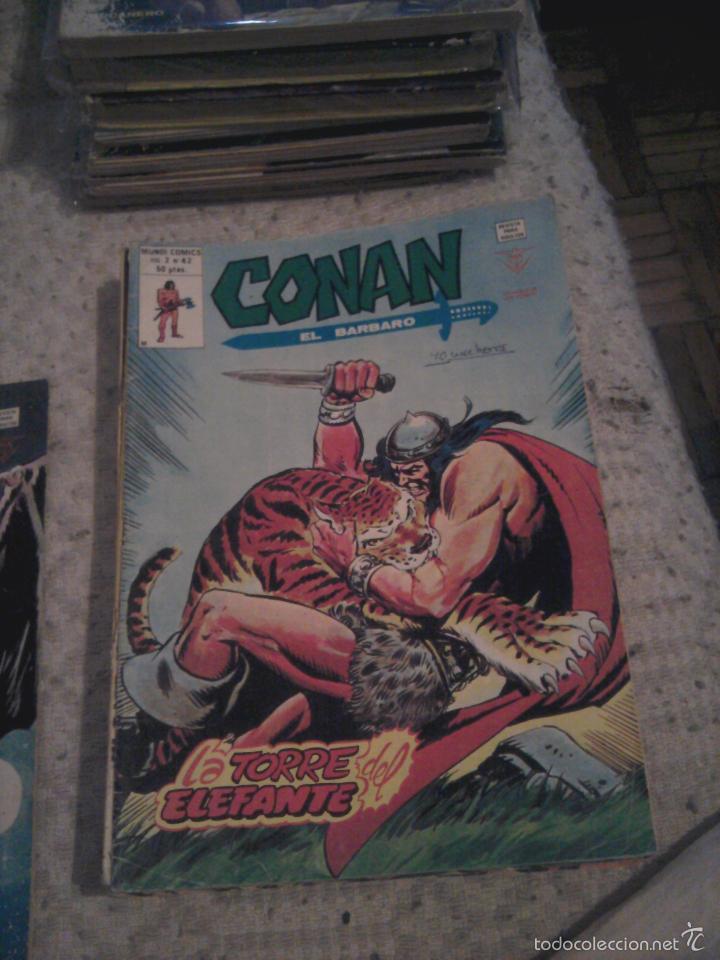 Cómics: Conan el Bárbaro 26 27 28 29 30 31 32 33 36 37 38 39 40 41 42 y 43 - Vértice - nºs sueltos - Foto 16 - 58772026