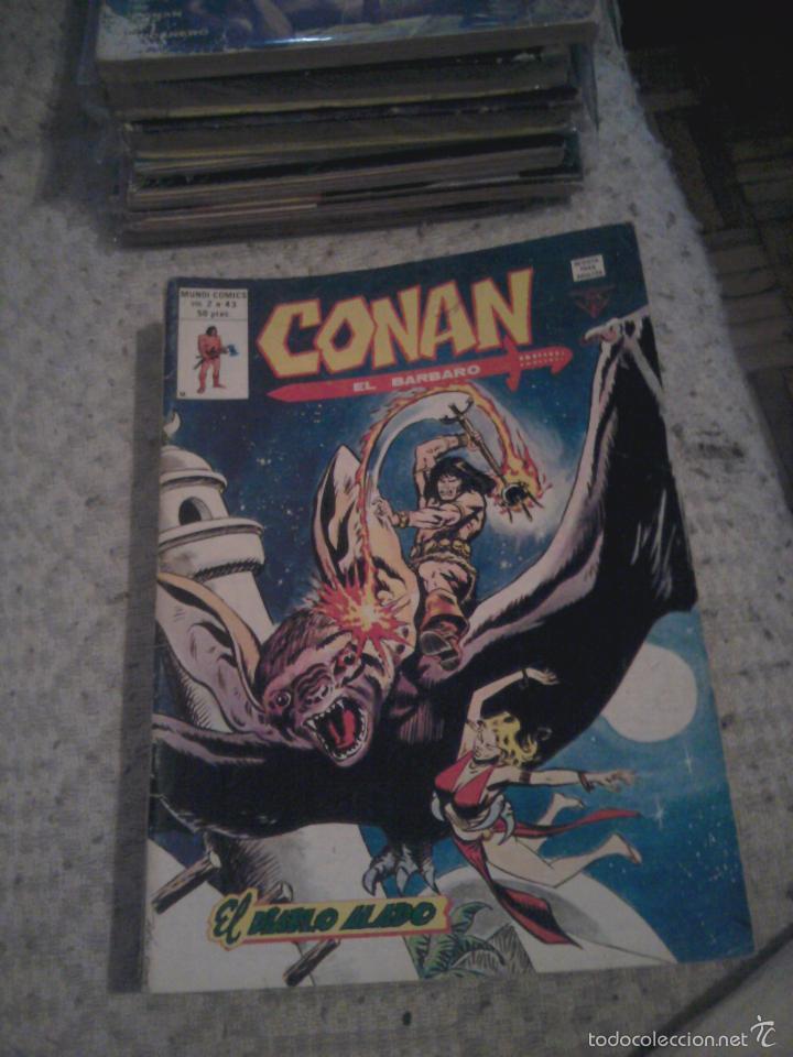 Cómics: Conan el Bárbaro 26 27 28 29 30 31 32 33 36 37 38 39 40 41 42 y 43 - Vértice - nºs sueltos - Foto 17 - 58772026