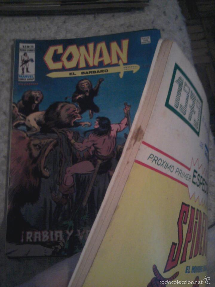 Cómics: Conan el Bárbaro 26 27 28 29 30 31 32 33 36 37 38 39 40 41 42 y 43 - Vértice - nºs sueltos - Foto 21 - 58772026