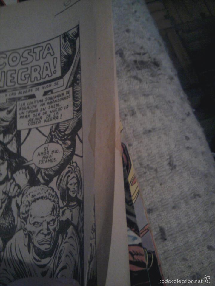 Cómics: Conan el Bárbaro 26 27 28 29 30 31 32 33 36 37 38 39 40 41 42 y 43 - Vértice - nºs sueltos - Foto 23 - 58772026