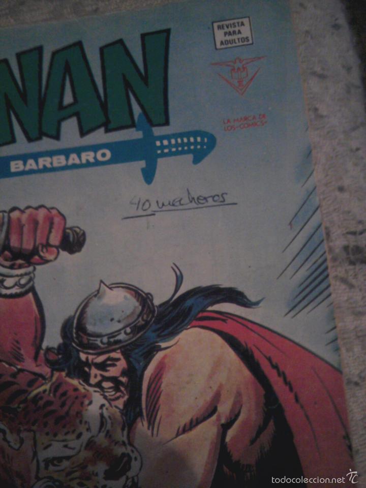 Cómics: Conan el Bárbaro 26 27 28 29 30 31 32 33 36 37 38 39 40 41 42 y 43 - Vértice - nºs sueltos - Foto 25 - 58772026