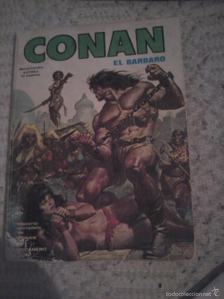 CONAN EL BARBARO EXTRA Nº 1 VERTICE CONAN EL BUCANERO (Tebeos y Comics - Vértice - Conan)