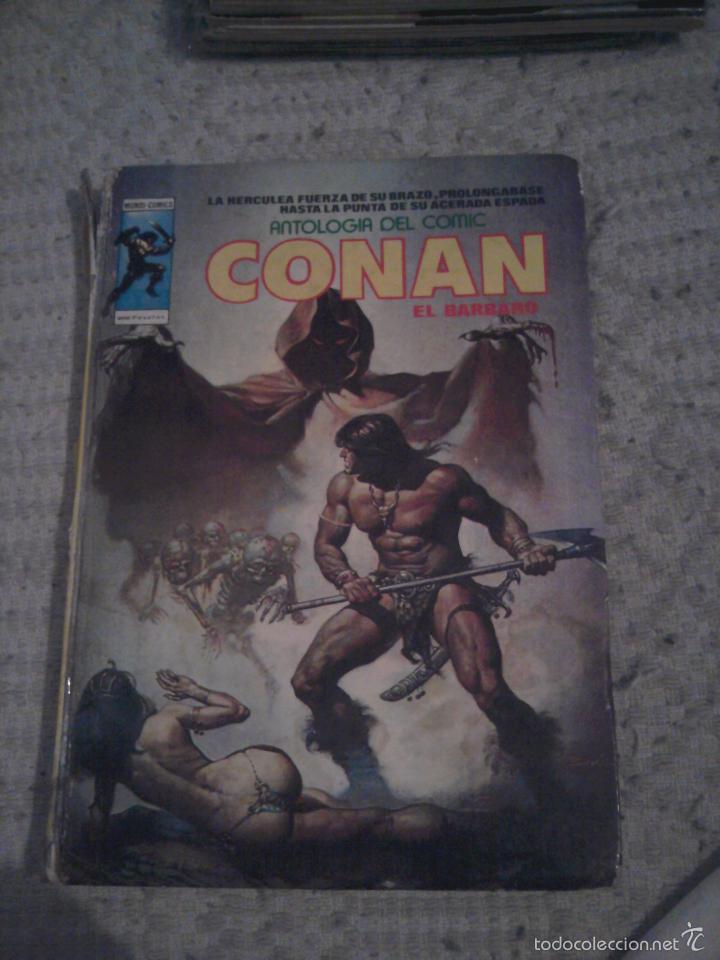 ANTOLOGIA DEL COMIC Nº 5 CONAN EL BARBARO VERTICE (Tebeos y Comics - Vértice - Conan)