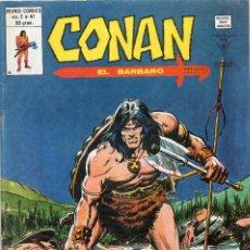 Cómics: COMIC VERTICE 1980 CONAN EL BARBARO VOL2 Nº 41 EXCELENTE ESTADO. Lote 58840131