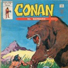Cómics: COMIC VERTICE 1980 CONAN EL BARBARO VOL2 Nº 38 (BUEN ESTADO). Lote 58840501