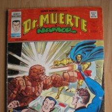 Cómics: SUPER HEROES PRESENTA DR. MUERTE Y NAMOR Nº 67 VERTICE VOL 2 - POSIBILIDAD ENTREGA EN MANO EN MADRID. Lote 58905740