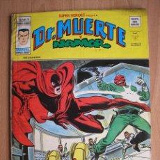 Cómics: SUPER HEROES PRESENTA DR. MUERTE Y NAMOR Nº 70 VERTICE VOL 2 - POSIBILIDAD ENTREGA EN MANO EN MADRID. Lote 58906000