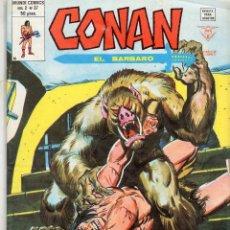 Cómics: COMIC VERTICE 1980 CONAN EL BARBAROVOL2 Nº 37 (MUY BUEN ESTADO). Lote 59031525