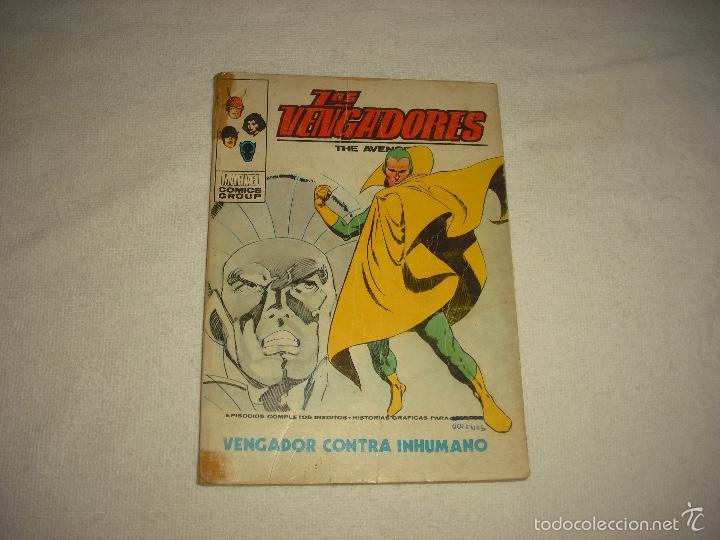 LOS VENGADORES N° 44, MARVEL . VERTICE (Tebeos y Comics - Vértice - Vengadores)