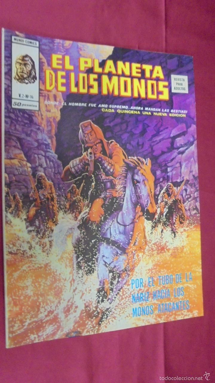 RELATOS SALVAJES. VOL 2. Nº 14. EL PLANETA DE LOS MONOS. EDICIONES VÉRTICE (Tebeos y Comics - Vértice - Relatos Salvajes)