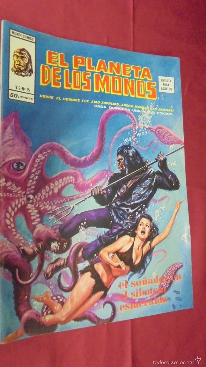 RELATOS SALVAJES. VOL 2. Nº 15. EL PLANETA DE LOS MONOS. EDICIONES VÉRTICE (Tebeos y Comics - Vértice - Relatos Salvajes)