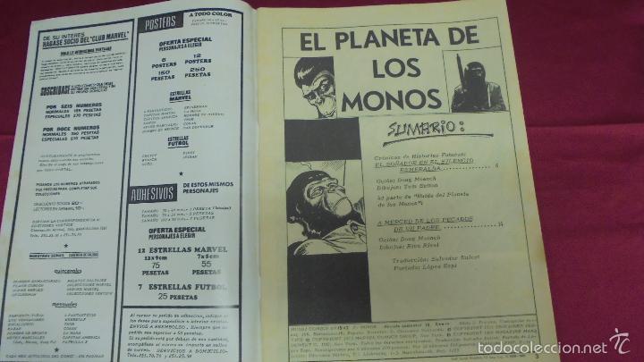 Cómics: RELATOS SALVAJES. VOL 2. Nº 15. EL PLANETA DE LOS MONOS. EDICIONES VÉRTICE - Foto 2 - 59539499