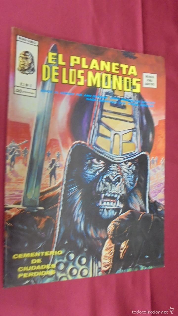 RELATOS SALVAJES. VOL 2. Nº 17. EL PLANETA DE LOS MONOS. EDICIONES VÉRTICE (Tebeos y Comics - Vértice - Relatos Salvajes)