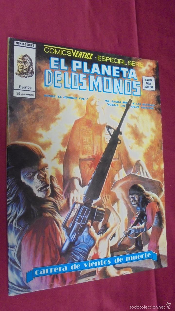 RELATOS SALVAJES. VOL 2. Nº 29. EL PLANETA DE LOS MONOS. EDICIONES VÉRTICE (Tebeos y Comics - Vértice - Relatos Salvajes)