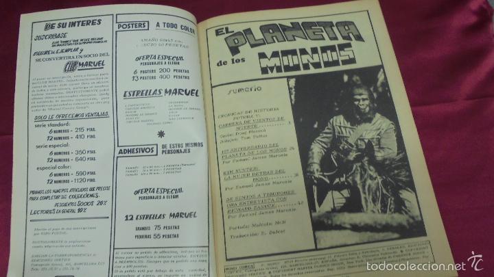 Cómics: RELATOS SALVAJES. VOL 2. Nº 29. EL PLANETA DE LOS MONOS. EDICIONES VÉRTICE - Foto 2 - 59540771