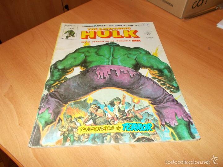 RAMPAGING HULK Nº 14 (Tebeos y Comics - Vértice - La Masa)
