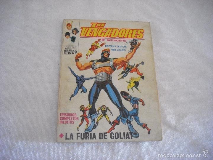 LOS VENGADORES N° 29, MARVEL . VERTICE . LA FURIA DE GOLIAT (Tebeos y Comics - Vértice - Vengadores)