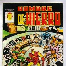 Cómics: COMIC . HOMBRE DE HIERRO . NUMERO 4 . EDICIONES VERTICE . 1981. Lote 59740712