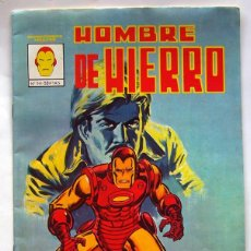 Cómics: COMIC . HOMBRE DE HIERRO . NUMERO 1 . EDICIONES VERTICE . 1981. Lote 59741000