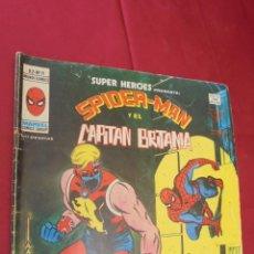Cómics: SUPER HEROES. VOL 2. Nº 91. SPIDERMAN Y EL CAPITAN BRITANIA. EDICIONES VERTICE.. Lote 60141627
