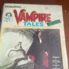 Cómics: ESCALOFRIO VAMPIRE TALES N-1. Lote 60280735