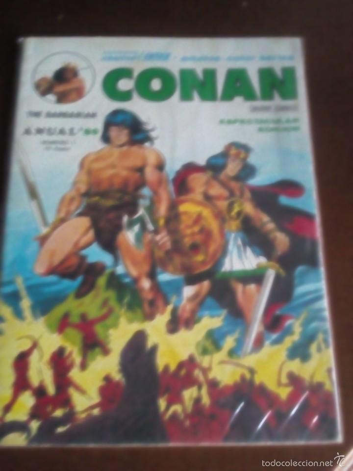 CONAN ANUAL 1980 (Tebeos y Comics - Vértice - Surco / Mundi-Comic)