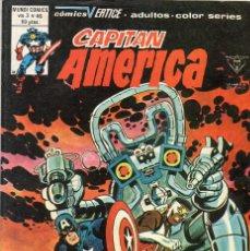 Cómics: COMIC VERTICE 1980 CAPITAN AMERICA VOL3 Nº 46 (MUY BUEN ESTADO). Lote 60689131