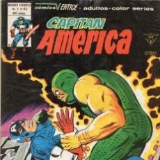 Cómics: COMIC VERTICE 1980 CAPITAN AMERICA VOL3 Nº 45 (BUEN ESTADO). Lote 120531731
