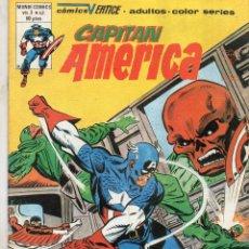 Cómics: COMIC VERTICE 1980 CAPITAN AMERICA VOL3 Nº 43 (MUY BUEN ESTADO). Lote 60689623
