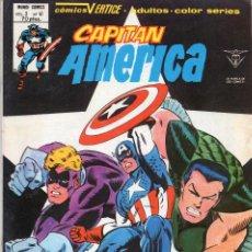 Cómics: COMIC VERTICE 1980 CAPITAN AMERICA VOL3 Nº 41 (MUY BUEN ESTADO). Lote 120531766