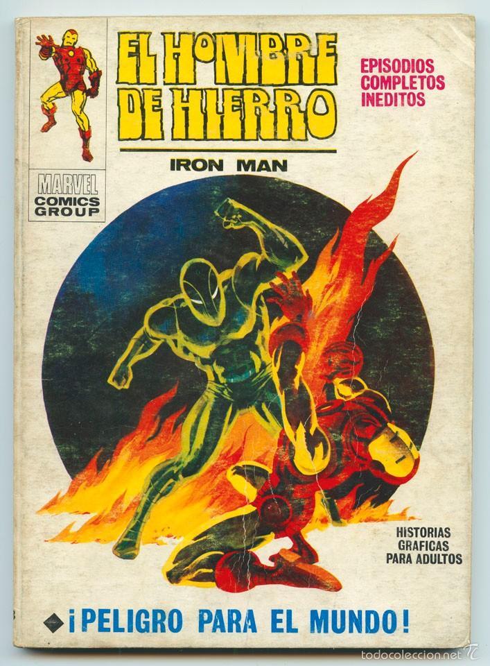 EL HOMBRE DE HIERRO (IRON MAN) - Nº 23 - ¡PELIGRO PARA EL MUNDO! - ED. VERTICE - 1972 (Tebeos y Comics - Vértice - Hombre de Hierro)