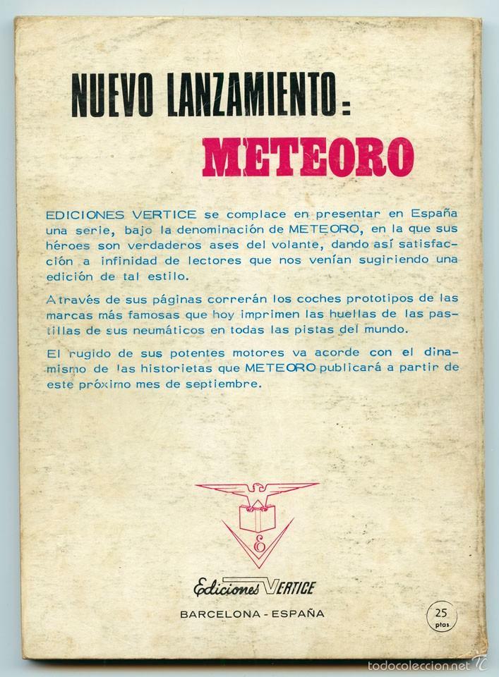 Cómics: EL HOMBRE DE HIERRO (IRON MAN) - Nº 23 - ¡PELIGRO PARA EL MUNDO! - ED. VERTICE - 1972 - Foto 2 - 102637692