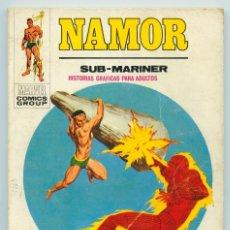 Cómics: NAMOR (SUB-MARINER) - Nº 21 - CONTRA LA ANTORCHA HUMANA - ED. VERTICE - 1972. Lote 60706239