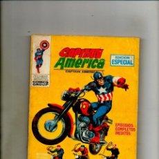 Cómics: CAPITAN AMERICA 12 - VERTICE 1970 - FN 6.0 - CAPTAIN AMERICA 128 Y 129 USA. Lote 60961479
