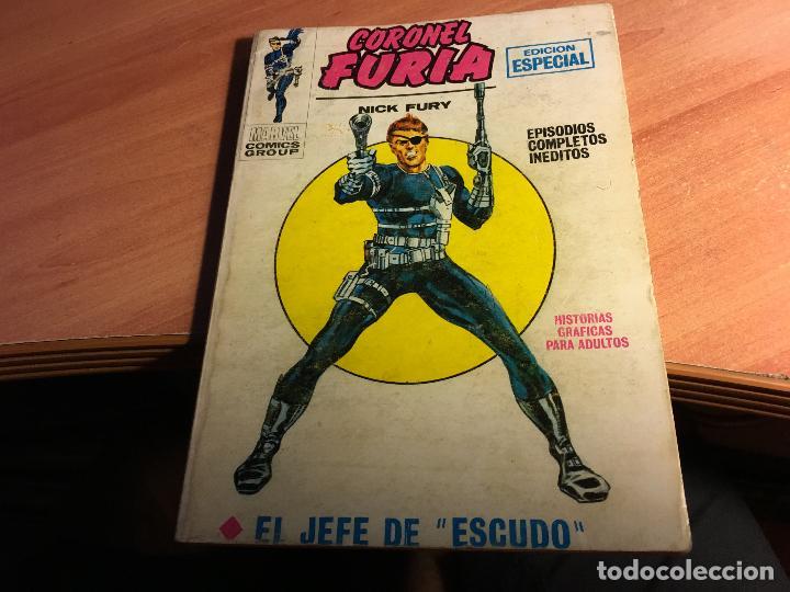 CORONEL FURIA Nº 1 EL JEFE DE ESCUDO (ED. VERTICE VOL 1 TACO) (COIB107) (Tebeos y Comics - Vértice - Otros)