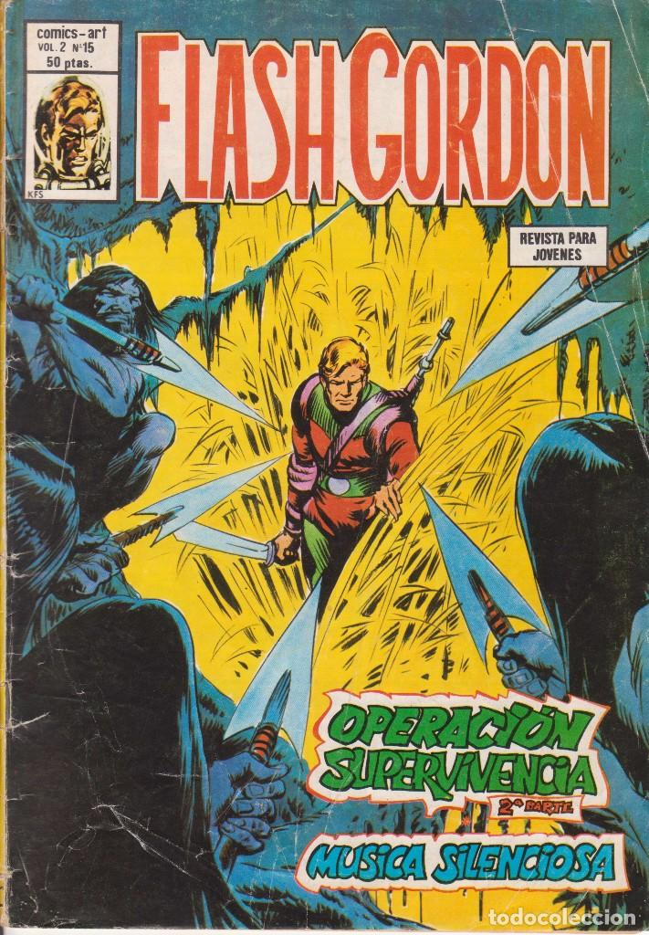 COMIC VERTICE VOL.2 - FLASH GORDON - Nº 15 BUEN ESTADO (Tebeos y Comics - Vértice - Flash Gordon)