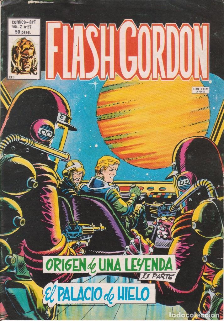 COMIC VERTICE VOL.2 - FLASH GORDON - Nº 27 EXCELENTE ESTADO (Tebeos y Comics - Vértice - Flash Gordon)