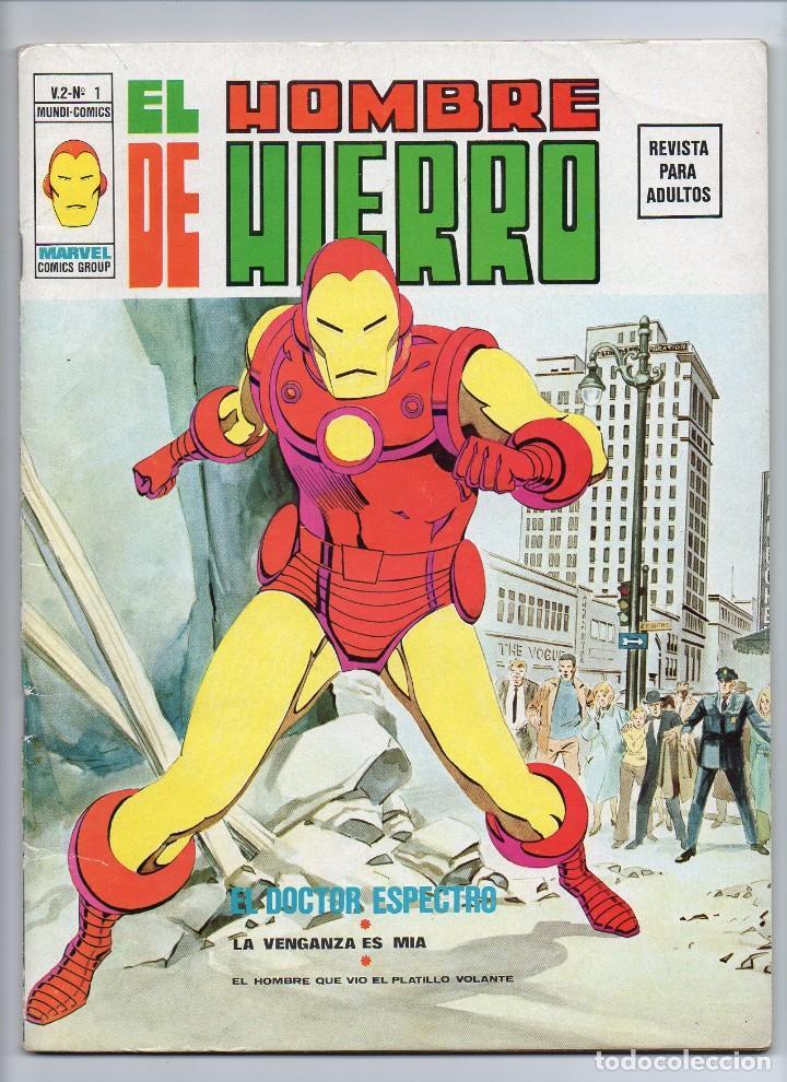 VERTICE HOMBRE DE HIERRO V2 Nº1 (Tebeos y Comics - Vértice - Hombre de Hierro)