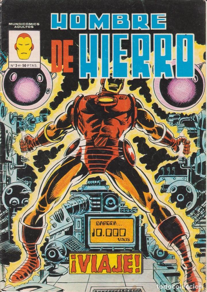 CÓMIC VERTICE - HOMBRE DE HIERRO - Nº3 MUNDICOMICS L.81 COLOR (Tebeos y Comics - Vértice - Hombre de Hierro)