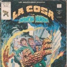 Cómics: CÓMIC VÉRTICE - LOS INSUPERABLES / LA COSA Y LA ANTORCHA HUMANA - Nº 31 VOL.1 B/N.. Lote 61580804