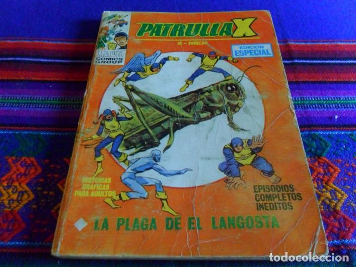 VÉRTICE VOL. 1 PATRULLA X Nº 11. 25 PTS. 1970. LA PLAGA DE LA LANGOSTA. (Tebeos y Comics - Vértice - Patrulla X)