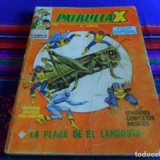 Cómics: VÉRTICE VOL. 1 PATRULLA X Nº 11. 25 PTS. 1970. LA PLAGA DE LA LANGOSTA.. Lote 62060004