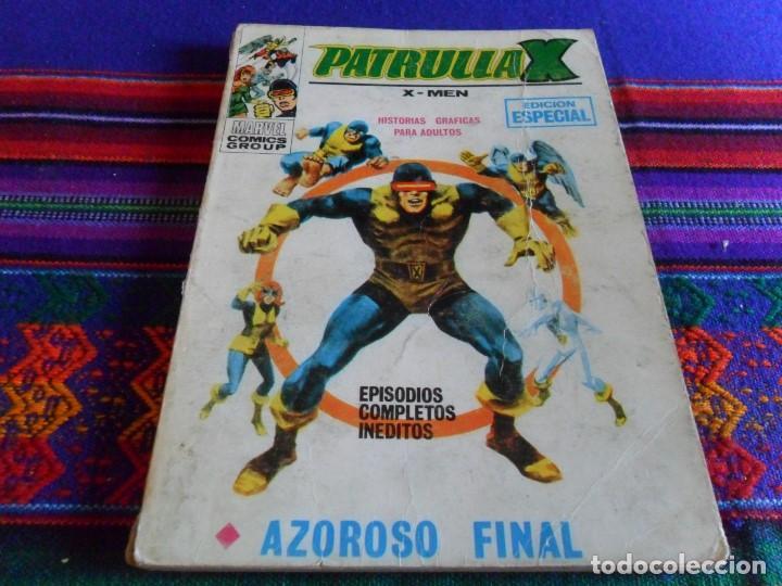 VÉRTICE VOL. 1 PATRULLA X Nº 18. 25 PTS. AZOROSO AZAROSO FINAL. (Tebeos y Comics - Vértice - Patrulla X)